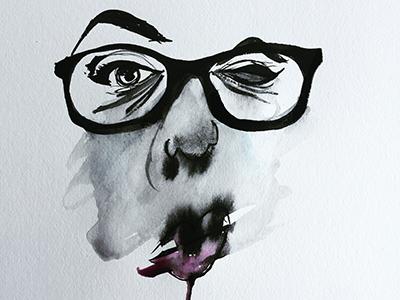 Nicole Watercolor Smudge