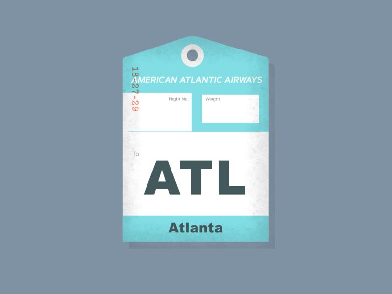 Ephemeral. typography layout design ephemeral tag luggage tag luggage