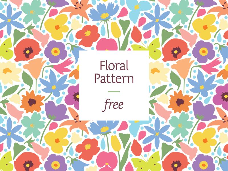 Floral Pattern By Nikita Lebedev Dribbble Dribbble