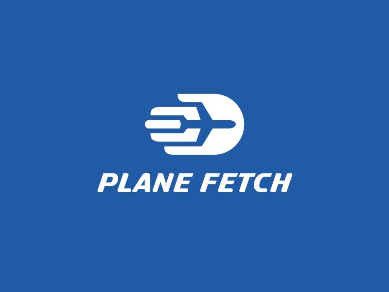 Plane Fetch negative space hand fetch plane usa