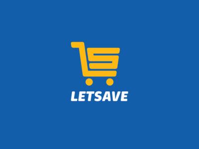 Letsave save convenience store grocery food cart ru-ferret ferrethills logo