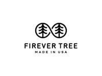 Firever tree usa  b w