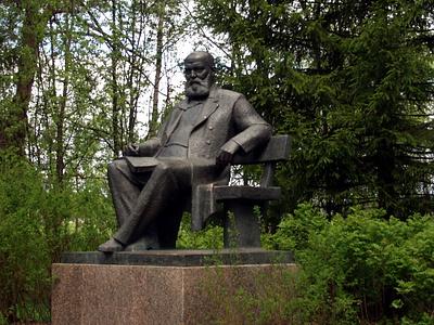 Shchelykovo kostroma ostrovsky monument playwright museum