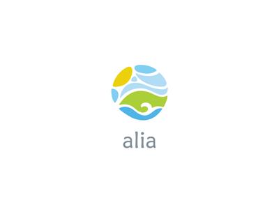 Alia travel sun sky sea hill ru-ferret ferrethills nikita lebedev logo