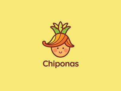 Chiponas children pineapple onion boy food chipollino ru-ferret ferrethills nikita lebedev logo