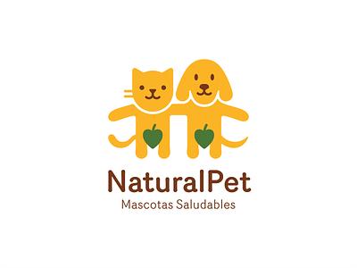 NaturalPet pet cat dog organic natural leaf humour cute