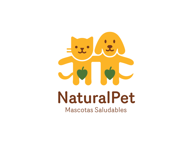 NaturalPet pet cat dog organic natural leaf humour cute