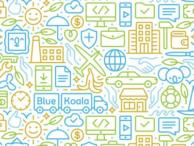BlueKoala Pattern
