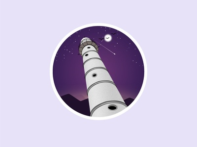 A Giant Tower ~ dharahara dharahara digital ads giant-tower illustration