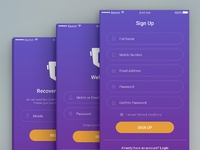 Sign-Up Design Concept