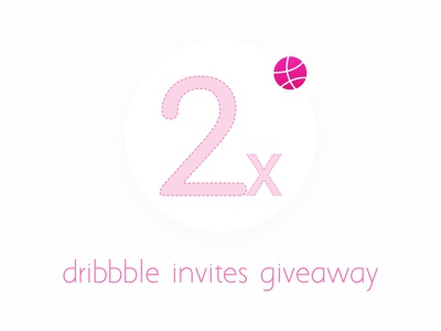 Dribbble Invites 2x minimal ui invites give away 2x dribbble invites