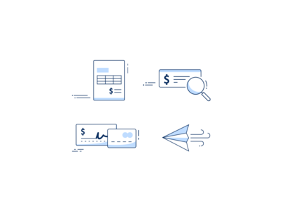 Invoicing & Payment Icons