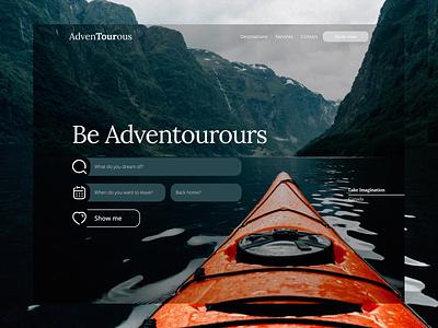 Travel Website Redesign 2020 design 2020 ux ui design branding webflow webdevelopment webdesign