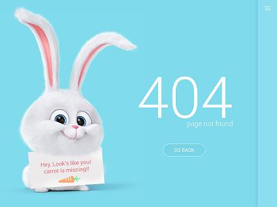 Daily UI #8 404 Error Page website web cute minimal page error 404 008 dailyui ui daily