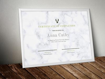 Certificate New certificate design illustration design