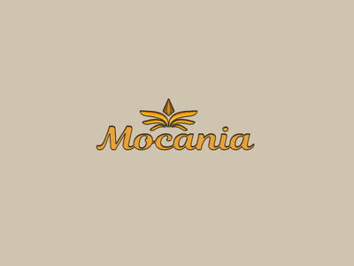 Mocania logo illustration design
