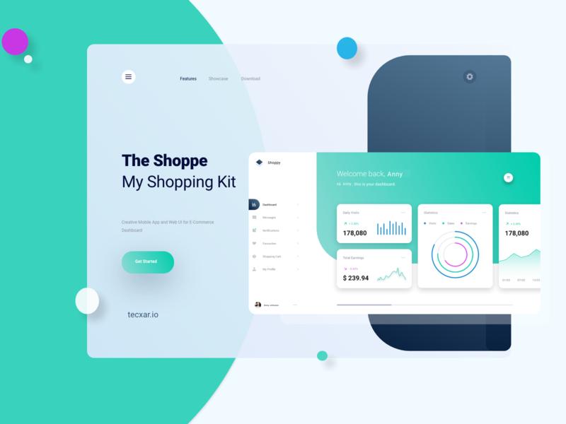 E-Commerce Dashboard creative  design customsoftwaredevelopment ecommerce design ux branding app design design adobe xd uiux creative design minimal