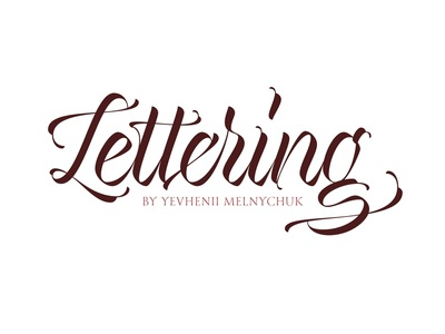 Lettering Collection typography typeface type pen parallel logotype logo lettering curves calligraphy