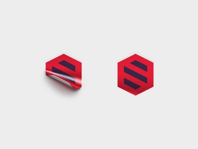 SocialTech Sticker pattern gif animation branding identity corporate design sticker