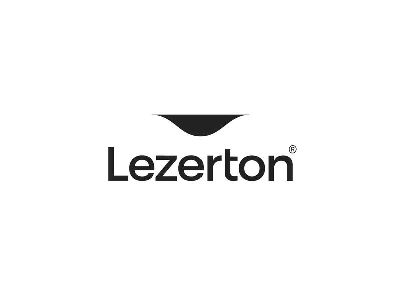 Lezerton® corporate design brand branding symbol accessories leather typeface type logotype logo