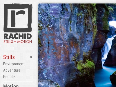 Stills+Motion Portal logo home page main menu