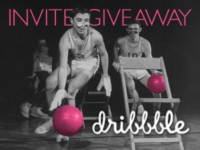 Double Dribbble Invite Giveaway giveaway dribbble invite