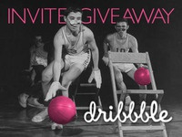 Double Dribbble Invite Giveaway