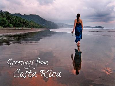 Costa Rica rebound costa rica postcard