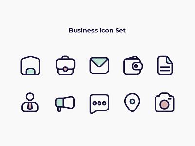 Business Icon Set design exploration business icon