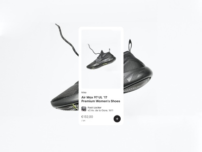 Product card ecommerce cart price shoes item product card