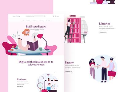 Grey Round Top - Landing Page website