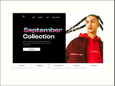 Streetwear E-Commerce Website design e-commerce streetwear clothing ui