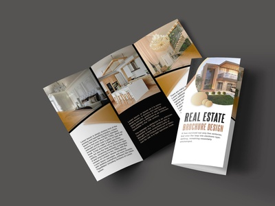 Real Estate Trifold Brochure Design design amazon landing page today product catalog travel artist branding brand identity real realestate brochure design