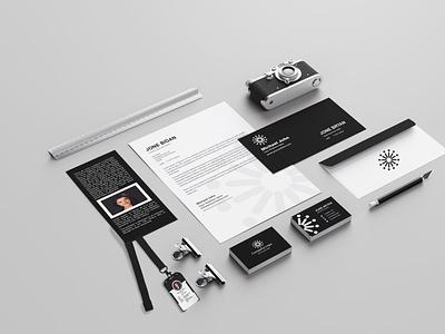 Corporate Stationery Design amazon poster business corporate design corporate branding corporate identity work love design travel landing page today brochure design product catalog branding artist