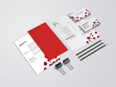 Minimalist Stationery Identity Design corporate corporate design corporate identity game love business design landscape amazon product catalog travel artist today brochure design idenity identitydesign branding