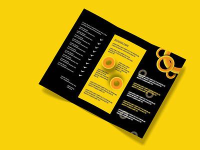 Tri-Fold Brochure Design sunset artist travel today magazine design landing page amazon brochure design product catalog branding