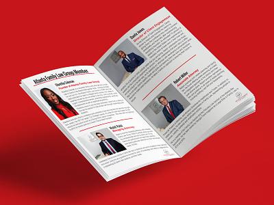 Bi-Fold Brochure Design brand identity booklet design bi-fold brochure business brochure corporate graphic design sunset artist travel today illustration design brochure design product catalog branding