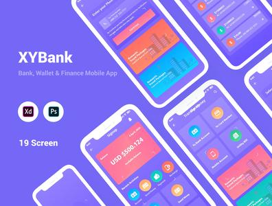 XYBank- Bank, Wallet & Finance Mobile App