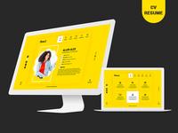 Virtual Business Card CV Resume