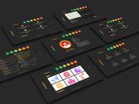 Ruler-Virtual Business Card CV Resume PSD Template