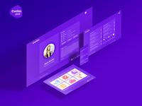 Cvrim - CV Resume Virtual vCard Portfolio PSD Template