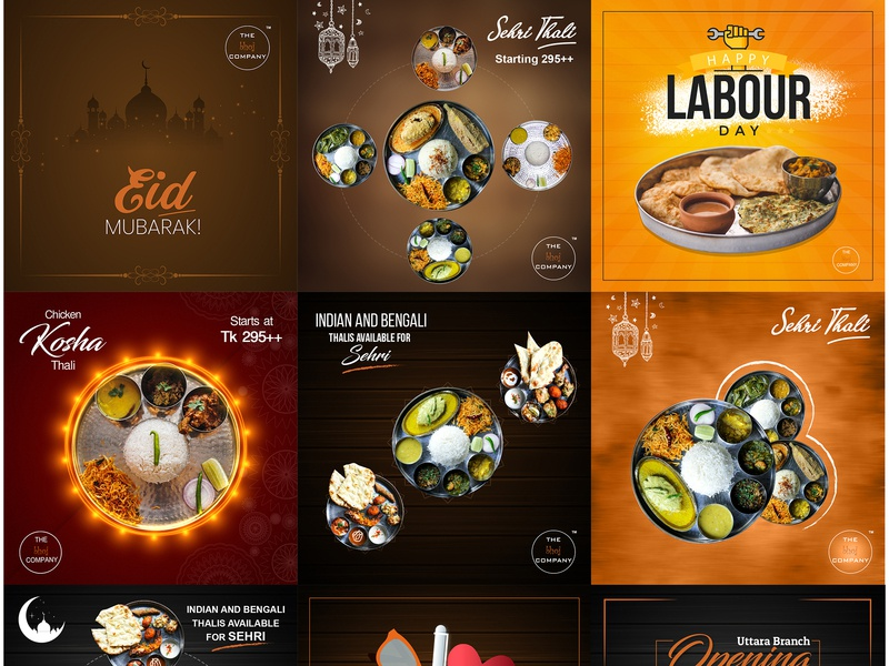 Restaurants Social Media Designs Themes Templates And Downloadable Graphic Elements On Dribbble