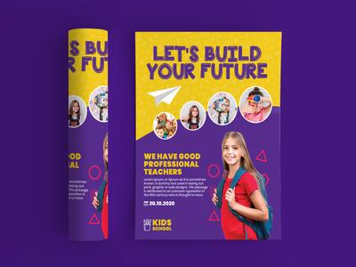Kid Education Flyer