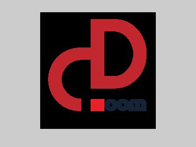 DD.com typo typogaphy logo vector