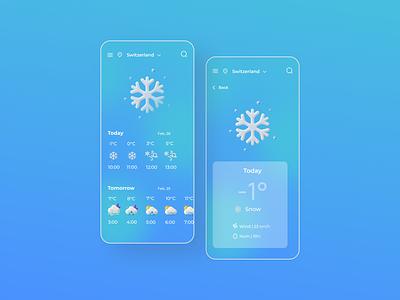 Weol | UI/UX Design weather app minimal web ux design uiux ui ui design design