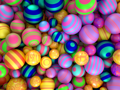 candy marble sphere design c4d klimotion cinema4d branding