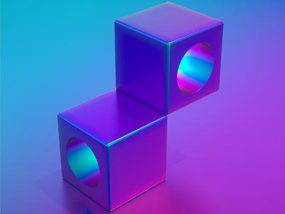 Eyes 3d modeling 3d artist motion art motiongraphics cubes 3d design c4d cinema4d