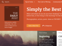 Daily Post Redesign