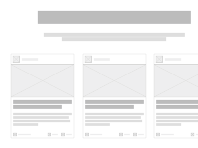 Homepage Wireframe wireframe simple idea