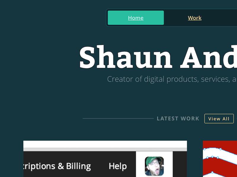 shaunandrews.com personal portfolio